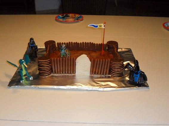 Recette gateau chocolat moule silicone chateau fort